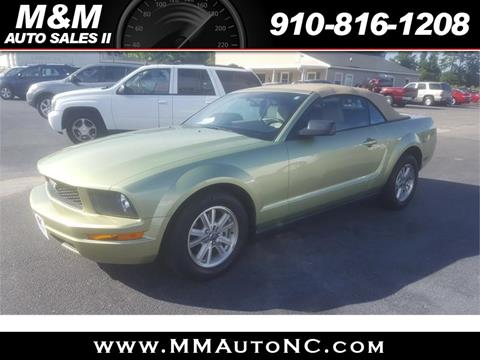 2006 Ford Mustang for sale in Lumberton, NC