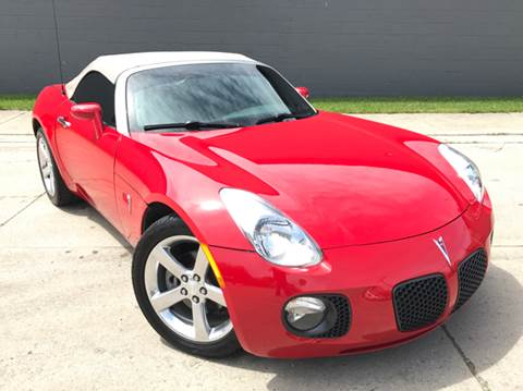 2007 Pontiac Solstice for sale at Adrenaline Motorsports Inc. in Saginaw MI