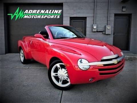 2003 Chevrolet SSR for sale at Adrenaline Motorsports Inc. in Saginaw MI