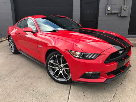 2016 Ford Mustang for sale at Adrenaline Motorsports Inc. in Saginaw MI