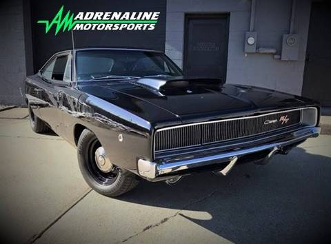 1968 Dodge Charger for sale at Adrenaline Motorsports Inc. in Saginaw MI