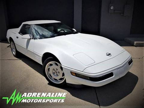 1992 Chevrolet Corvette for sale at Adrenaline Motorsports Inc. in Saginaw MI