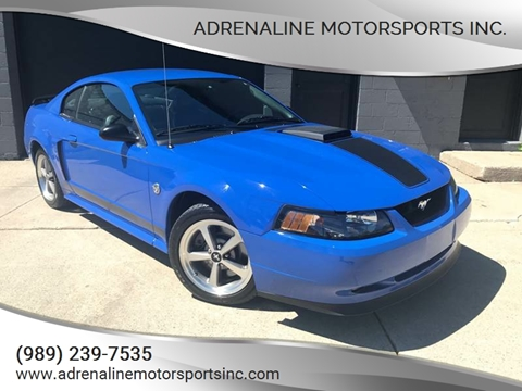2004 Ford Mustang for sale at Adrenaline Motorsports Inc. in Saginaw MI
