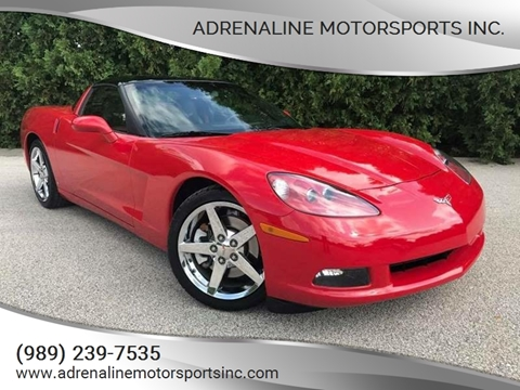 2007 Chevrolet Corvette for sale at Adrenaline Motorsports Inc. in Saginaw MI