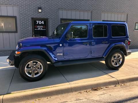 2019 Jeep Wrangler Unlimited Sahara for sale at Adrenaline Motorsports Inc. in Saginaw MI