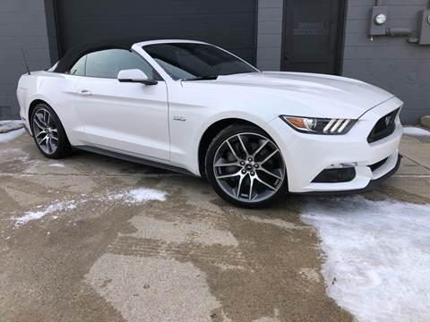 2017 Ford Mustang GT Premium for sale at Adrenaline Motorsports Inc. in Saginaw MI