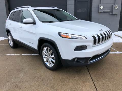 2014 Jeep Cherokee Limited for sale at Adrenaline Motorsports Inc. in Saginaw MI