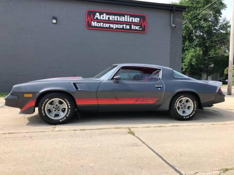 1981 Chevrolet Camaro for sale at Adrenaline Motorsports Inc. in Saginaw MI