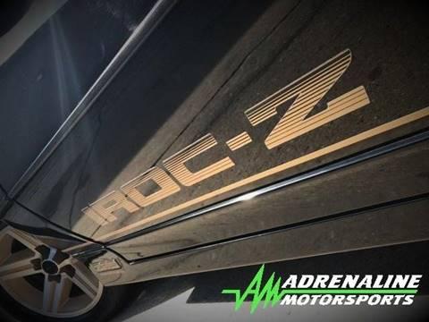 1986 Chevrolet Camaro for sale at Adrenaline Motorsports Inc. in Saginaw MI