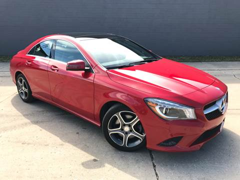 2014 Mercedes-Benz CLA for sale at Adrenaline Motorsports Inc. in Saginaw MI