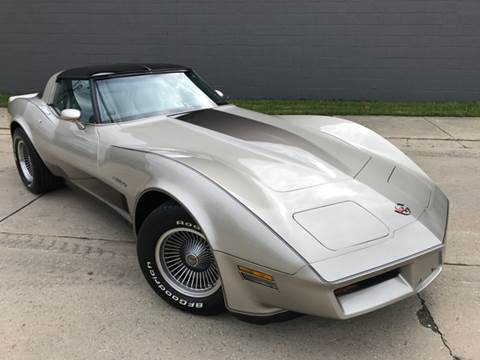 1982 Chevrolet Corvette for sale at Adrenaline Motorsports Inc. in Saginaw MI
