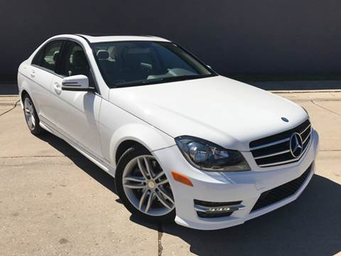 2014 Mercedes-Benz C-Class for sale at Adrenaline Motorsports Inc. in Saginaw MI