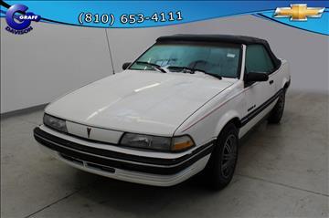 1991 Pontiac Sunbird for sale in Davison, MI