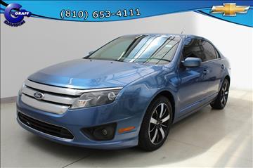 2010 Ford Fusion for sale in Davison, MI