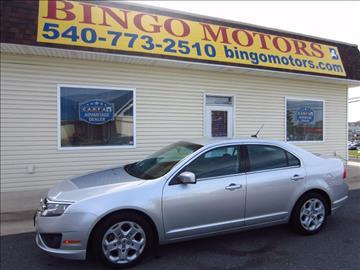 2011 Ford Fusion for sale in Winchester, VA