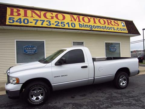 2004 Dodge Ram Pickup 1500 for sale in Winchester, VA