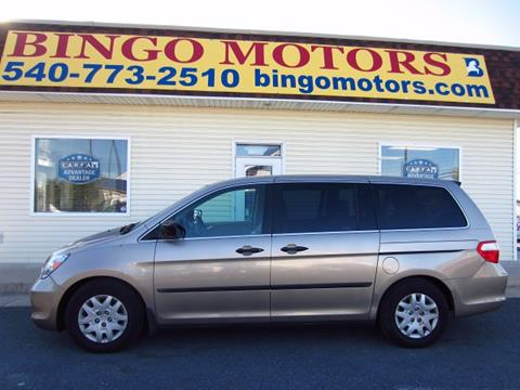 2007 Honda Odyssey for sale in Winchester VA