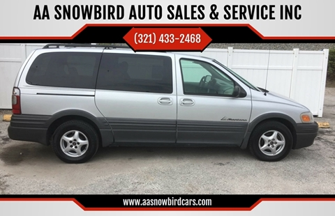 2003 Pontiac Montana for sale in Rockledge, FL
