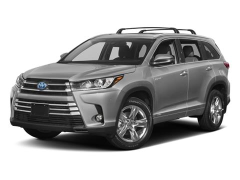 2017 Toyota Highlander Hybrid for sale in Westbury, NY