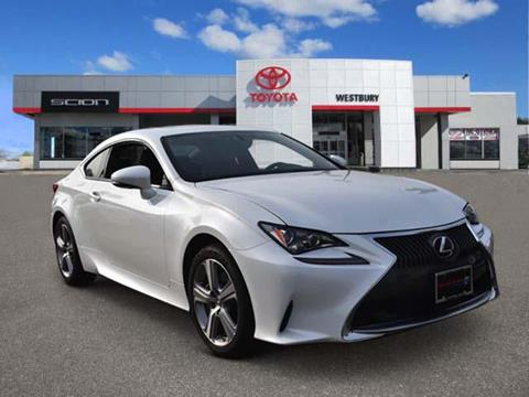 2015 Lexus RC 350 for sale in Westbury, NY