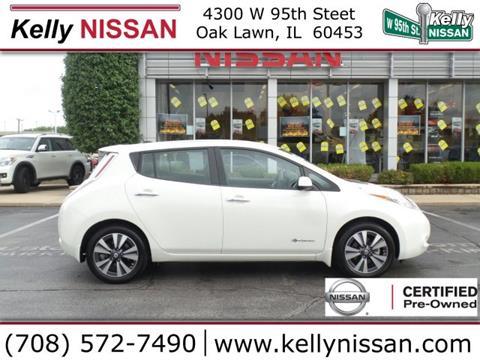2016 Nissan LEAF for sale in Oak Lawn, IL