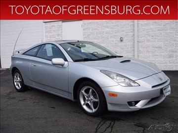 2005 Toyota Celica for sale in Greensburg, PA