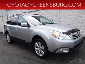 2012 Subaru Outback for sale in Greensburg, PA