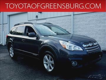 2013 Subaru Outback for sale in Greensburg, PA