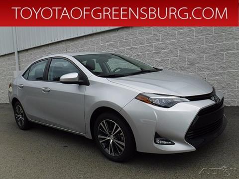 2017 Toyota Corolla For Sale In Greensburg, PA