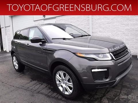 2017 Land Rover Range Rover Evoque for sale in Greensburg, PA