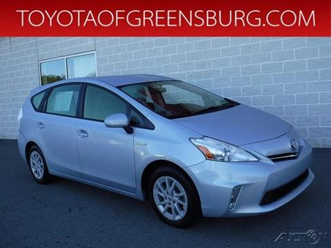 2014 Toyota Prius v for sale in Greensburg, PA