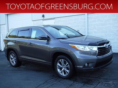 2014 Toyota Highlander for sale in Greensburg, PA