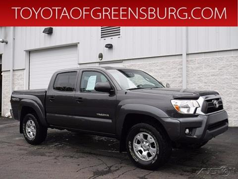 2012 Toyota Tacoma for sale in Greensburg, PA
