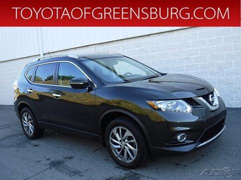 2015 Nissan Rogue for sale in Greensburg, PA
