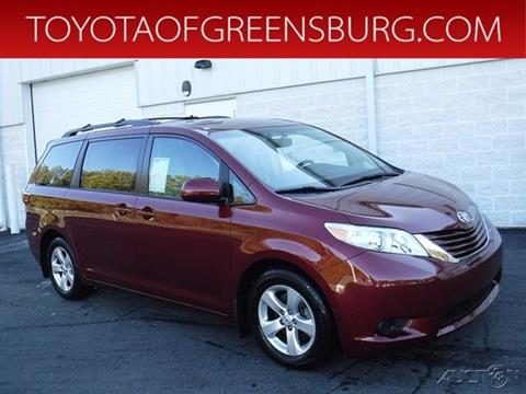 2015 Toyota Sienna for sale in Greensburg, PA