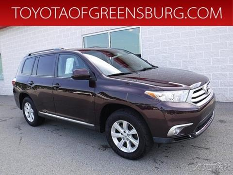 Charming 2011 Toyota Highlander For Sale At TOYOTA OF GREENSBURG In Greensburg PA