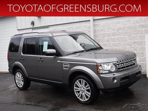 2010 Land Rover LR4 for sale in Greensburg, PA