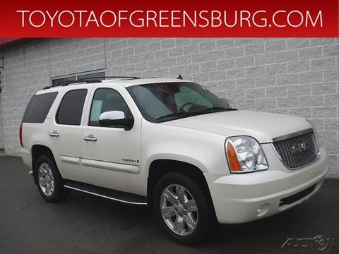 2008 GMC Yukon for sale in Greensburg, PA