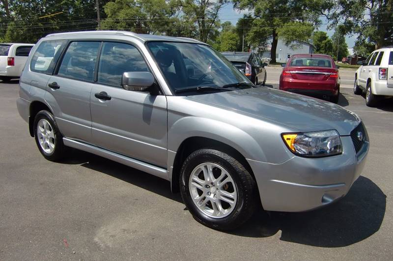 2008 Subaru Forester Awd Sports 2 5 X 4dr Wagon 4a In Grand Rapids