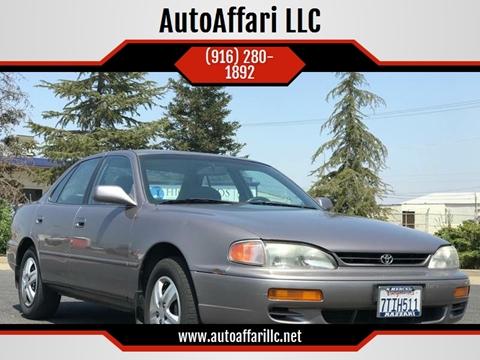 1996 Toyota Camry for sale at AutoAffari LLC in Sacramento CA