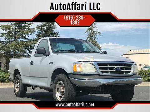 2001 Ford F-150 for sale at AutoAffari LLC in Sacramento CA
