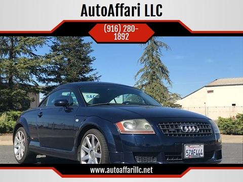 2005 Audi TT for sale at AutoAffari LLC in Sacramento CA
