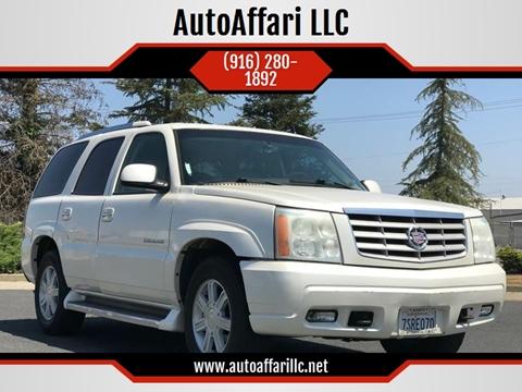2006 Cadillac Escalade for sale at AutoAffari LLC in Sacramento CA