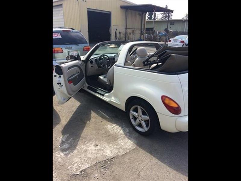 2005 chrysler pt cruiser gt 2dr convertible in hayward ca for Goldie s motors inventory