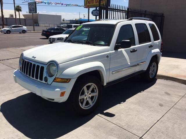 2007 Jeep Liberty For Sale At Alpha U0026 Omega Auto Sales In Phoenix AZ