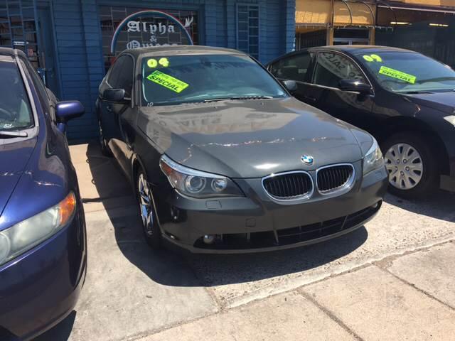 2004 BMW 5 Series 530i In Phoenix AZ - Alpha & Omega Auto Sales