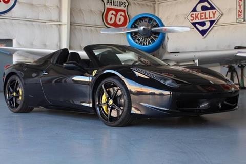 2013 Ferrari 458 Spider for sale in Addison, TX