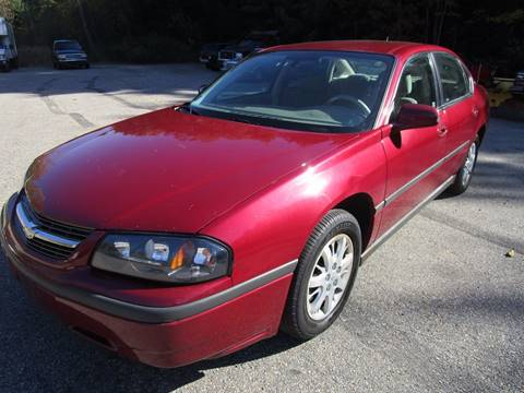 2005 Chevrolet Impala for sale in Plaistow, NH