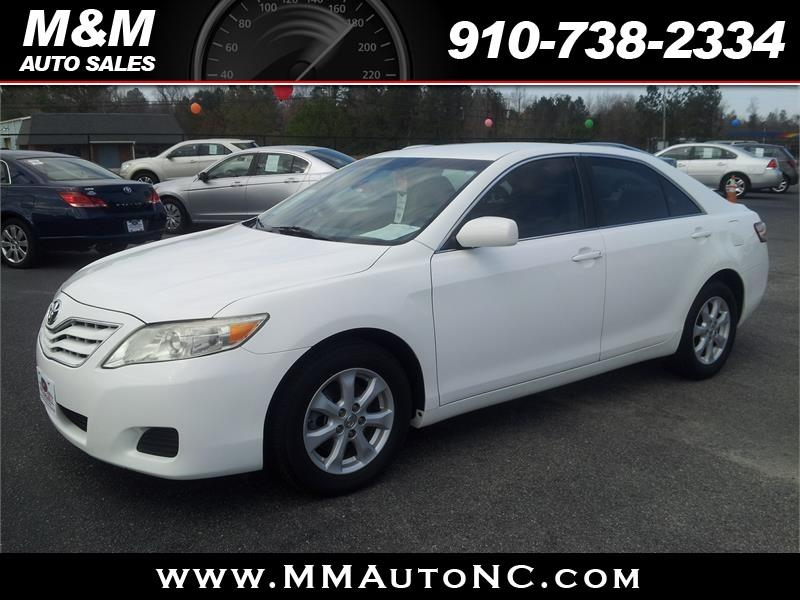 2011 Toyota Camry for sale at M and M Auto Sales in Lumberton NC