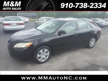 2008 Toyota Camry for sale at M and M Auto Sales in Lumberton NC